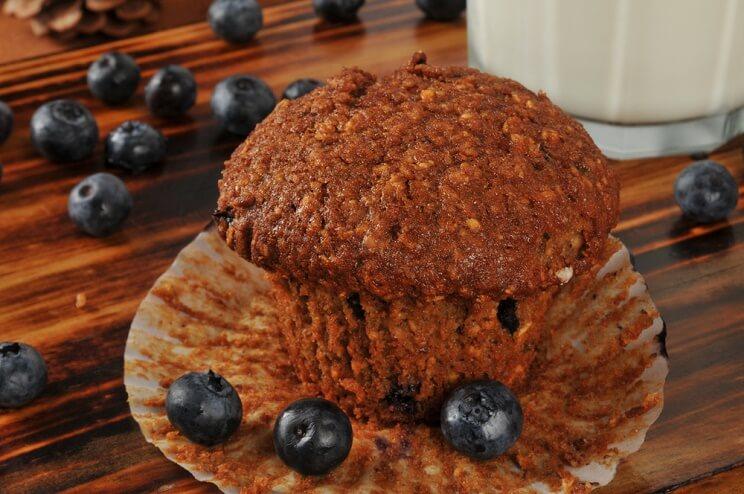 Linaseemne-muffin