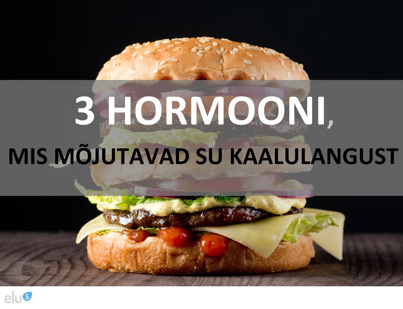 Elu5-3 Hormooni, mis mõjutavad sinu kaalulangust