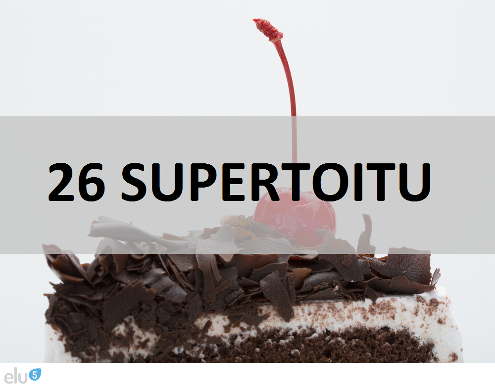 Elu5-26 supertoitu mida poest osta