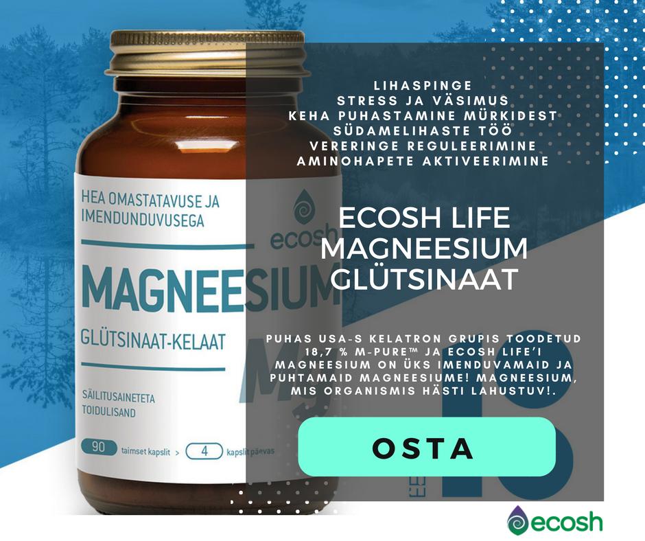 Ecosh-Magneesium Glütsinaat
