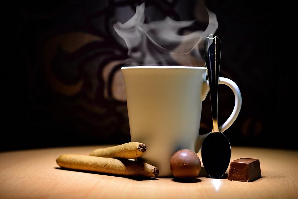 kohvi ja sigaret