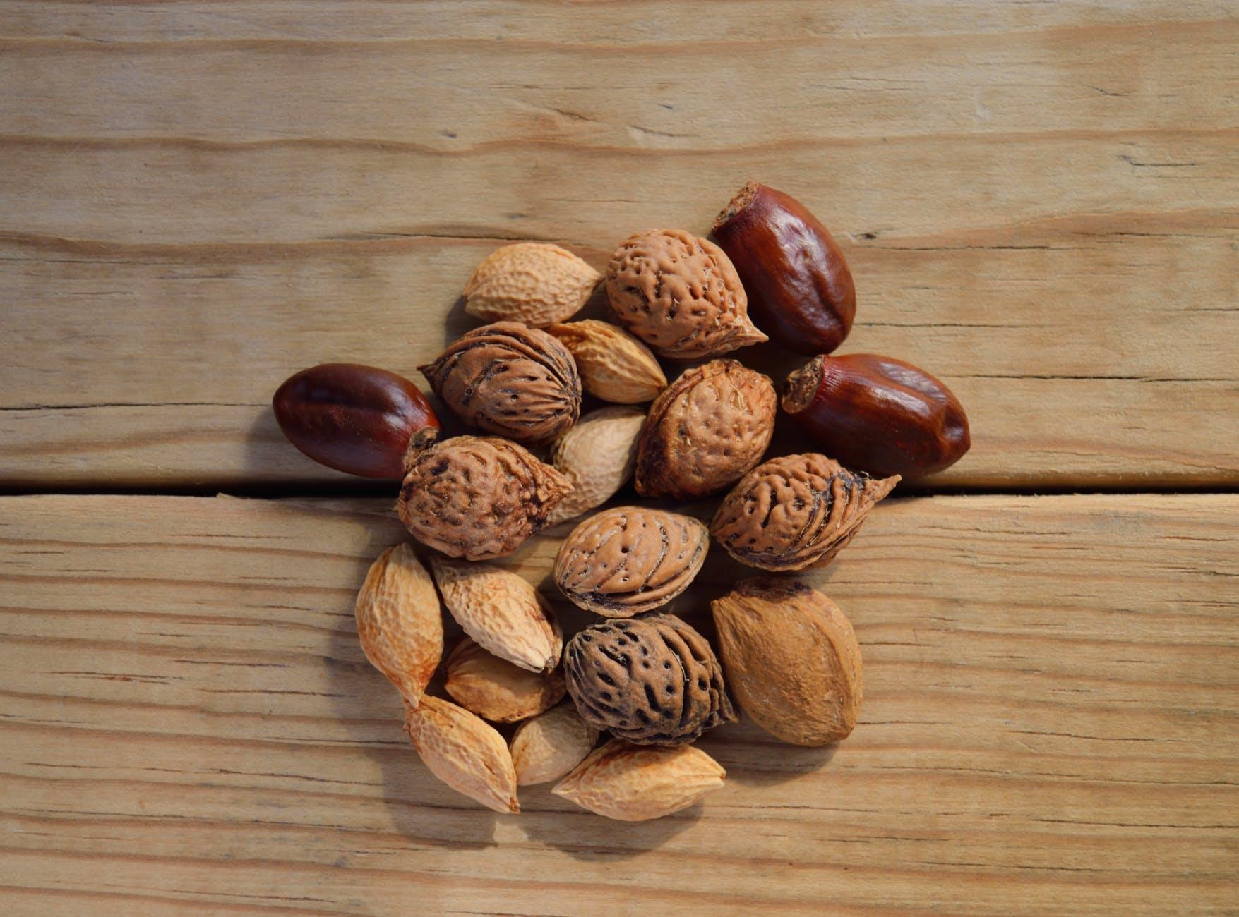 pähklid ja seemned