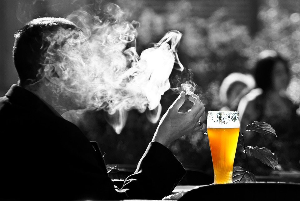 Mürkained alkohol ja suitsetamine