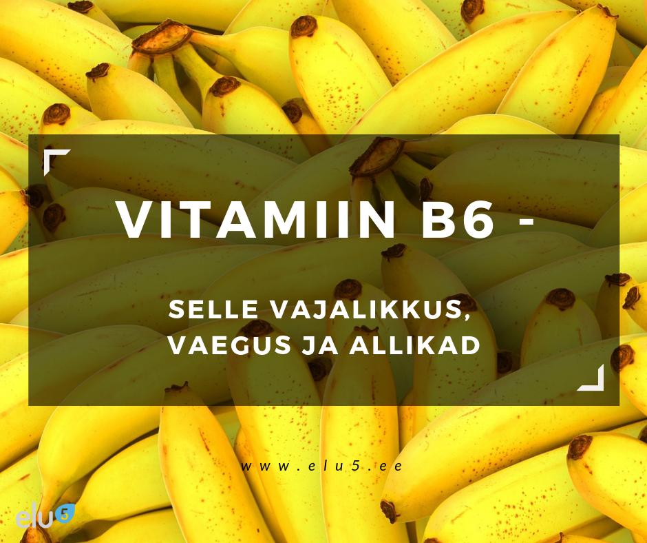 Elu5 - Pealkiri - 2019 Vitamiin B6