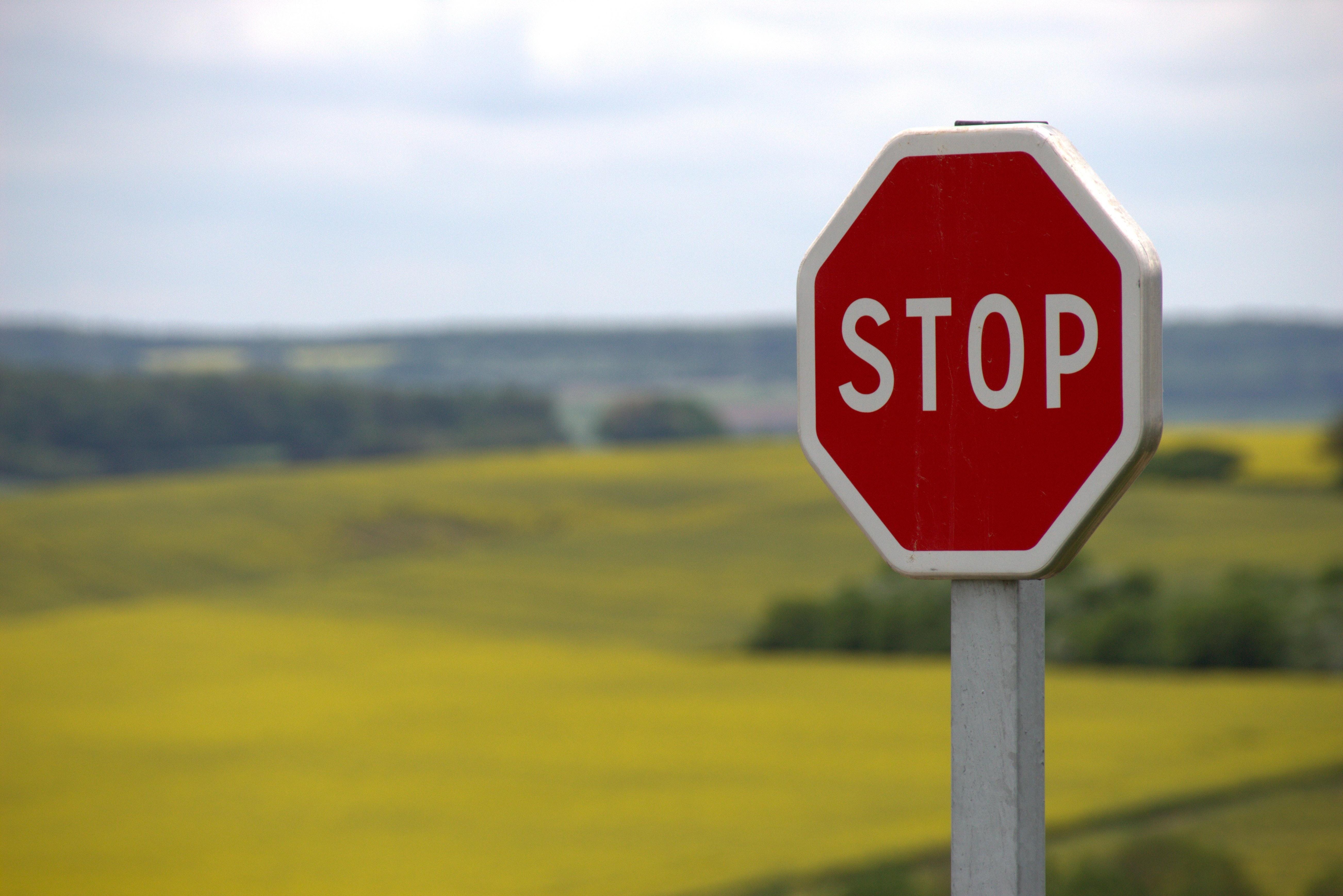 Stop märk - uimastiennetus